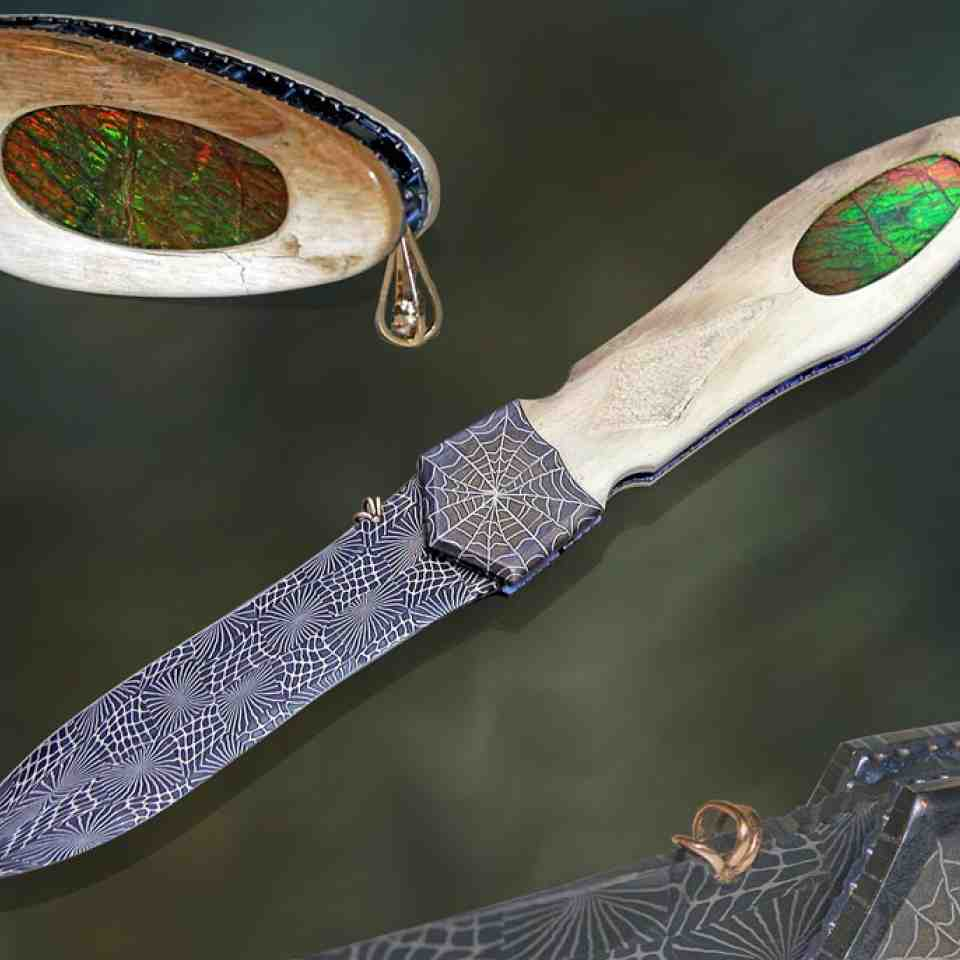 Ammolite Dagger The Fire Within