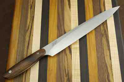 Sashimi Chef Knife with Curly Koa Handle