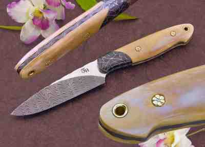 Forged Storm Hunting Knife