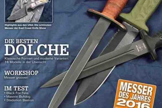 Messer Magazin August / September 2015