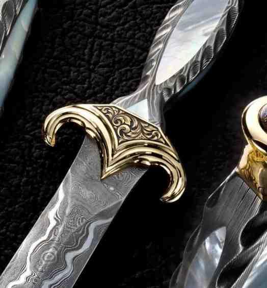 Golden Dagger close up