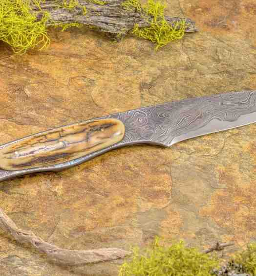 Mammoth and Kernmantel Boot Knife