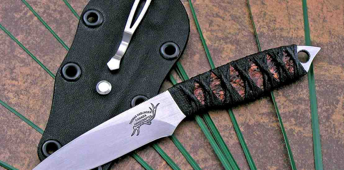 Firefly knife with Japanese handle wrap
