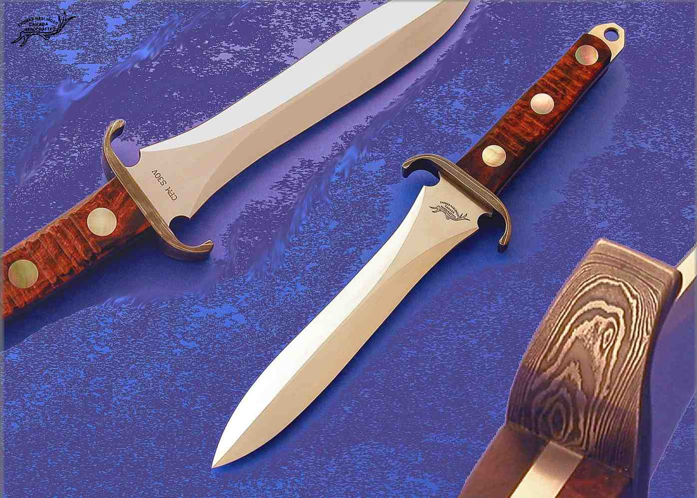 EK Dagger with black lip pearl inlays