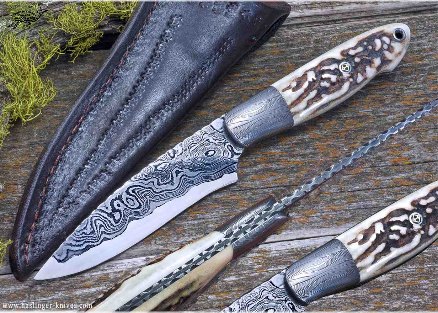 Kernmantle Damascus and Stag Hunter