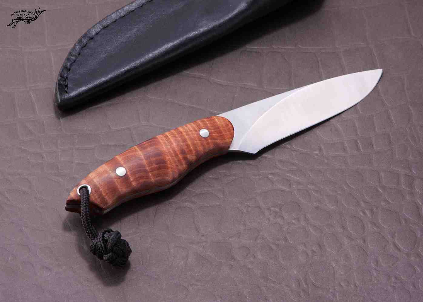 Fiddleback Maple Huntress right hand view